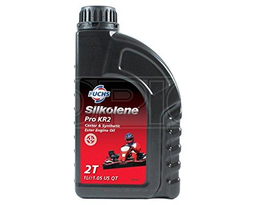 SILKOLENE Pro KR2Castor/Ester–Aceite sintético 2T Karting Motor 600757403–1l