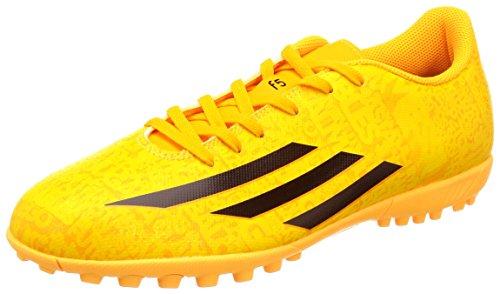 Adidas Multinockenschuhe F5 Fußballschuhe TF (messi) Sogold/cblack/cblack, Größe Adidas:10
