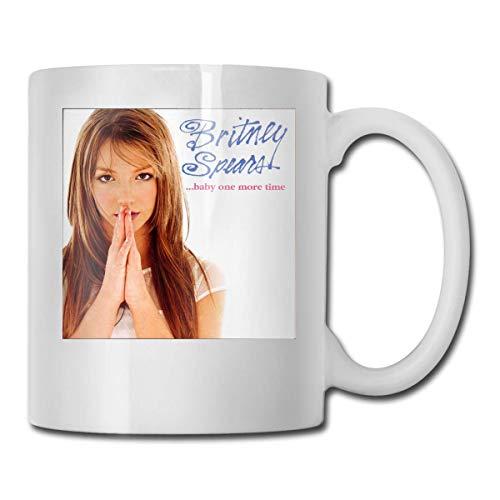 N\A Taza de café Divertida de 11 onzas, Tazas de Britney Showdown-Spears, cumpleaños único para Mujeres, Hombres
