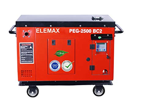 Elemax. PEG2500B C2 2400VA (2.2 Kva) Petrol Generator with Electric+Recoil Start [PEG2500B C2]