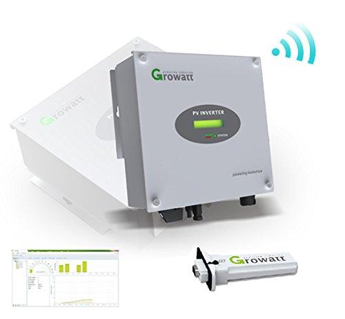 Wechselrichter Growatt 1500S inkl WiFi Stick Stringwechselrichter VDE RS232 Watt