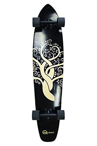 Quest The Super Cruiser Gaia Artisan Maple 44u0022 Longboard Skateboard