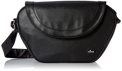 MIMA Xari Trendy Wickeltasche Black