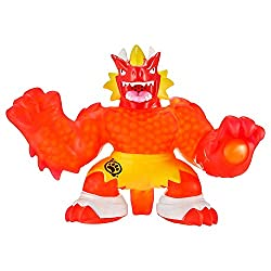 The battle of goo versus evil is at breaking point! It's time for Blazagon to power-up from within and morph into Supagoo Blazagon! With twice the size and twice the fire power! Stretch him for attack lights and sounds! Squeeze his power fist to laun...