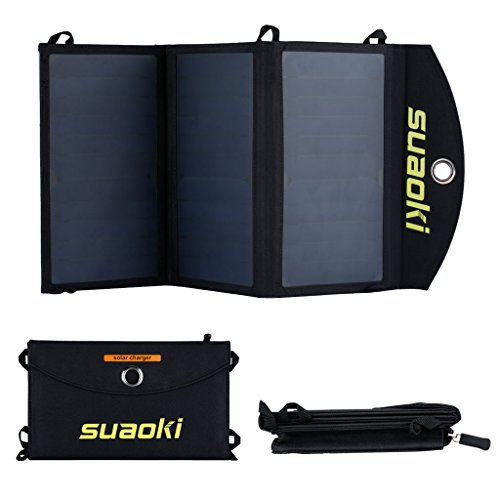 Suaoki&trade 20W Cargador Panel Solar...