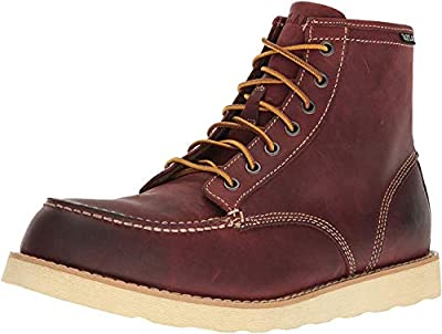 Eastland Lumber Up 6 Inch Work Boots mens boots 7241-10D_10.5 - Oxblood