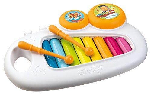 Xylophone avec 2 Baguettes et 2 Tambourins