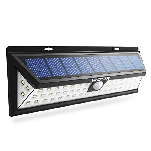 Lampada solare 54 LED 800 Lumen