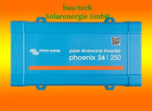 Spannungswandler Victron Phoenix 24V-500Watt VE.Direct reiner Sinus Inverter von bau-tech Solarenergie GmbH