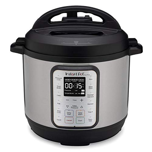 Instant Pot Duo Plus 8 Quart 9-in-1 Electric Pressure Cooker, Slow Cooker, Rice Cooker, Steamer, Saute, Yogurt Maker & Warmer, Sterilizer, 15 One-Touch Programs