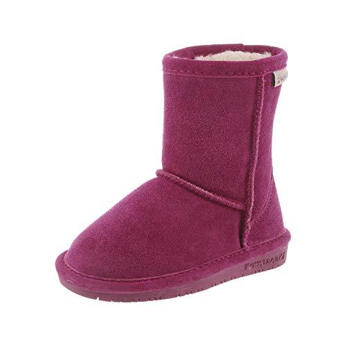 Bearpaw dziewczęce buty zimowe Emma Toddler Zipper, różowy - Pink Pom Berry 671-25 EU