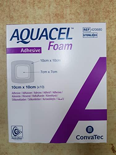 Aquacel Foam Dressing by Convatec (Dressing, AQUACEL Foam, Adhesive, 4