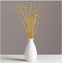 Ceramic Vase Small Solid Color Flower Bouquet Decoration Flower Vase Home Decor Ideal Gifts for Friends Wedding Flower Bot...