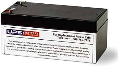 UPSBatteryCenter RBC35 Compatible Replacement Battery for APC BE350G, BE350R, BE350U