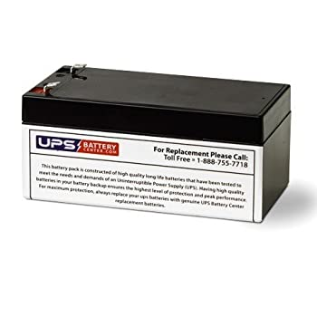 BE350G - UPSBatteryCenter Compatible Replacement Battery  RBC35  for APC Back-UPS ES 350VA BE350G