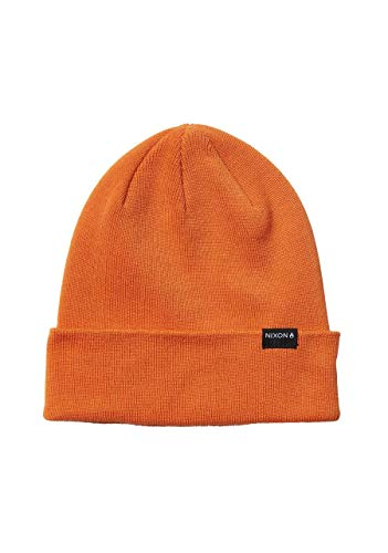 NIXON District Beanie - Light Orange