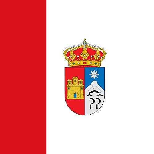 magFlags Bandera Large Municipio de Villanueva de Carazo Castilla y León   1.35m²   120x120cm