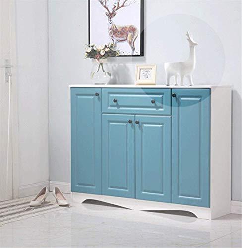 TAIDENG Moderno mini malista creativo decoración de sala de estar con marco de llave para puerta, zapatero para decoración de casa (color: blanco)