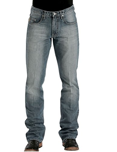Cinch Men's Dooley Relaxed Fit Jeans Light Stone 34W x 32L