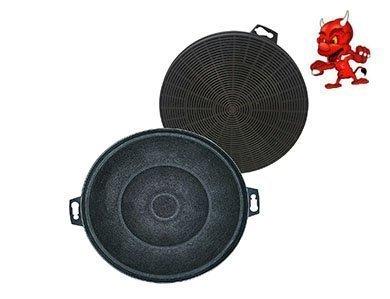 Set 2 Actif Filtre Filtre à Charbon pour Hotte Aspirante Bosch DKE735B01