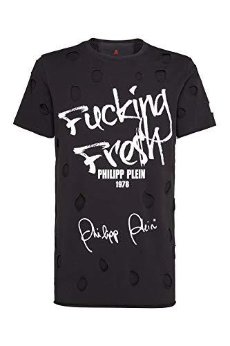 Philipp Plein Tee Shirt En Jersey Mtk2482