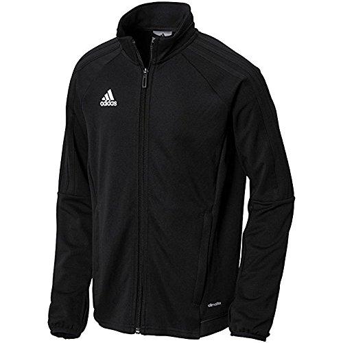 adidas Youth Tiro 17 Training Jacket Black/White L
