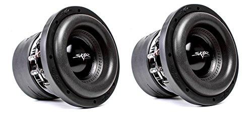 "(2) Skar Audio ZVX-8 D2 8"" 900W RMS Dual 2 SPL Car Subwoofer"