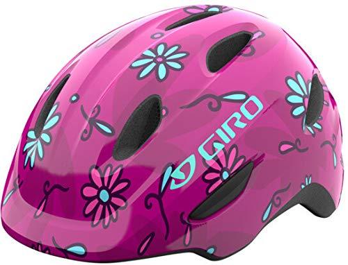 Giro Scamp MIPS 2021 - Casco de bicicleta infantil (talla S, 49-52 cm), color rosa