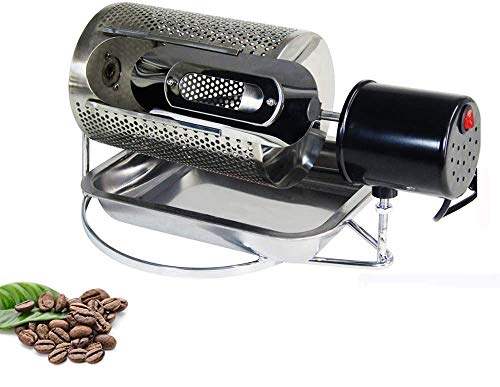 JIAWANSHUN 250g Household Coffee Roaster Coffee Beans Roaster Used in Gas Stove or Alcohol Stove110V