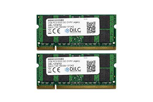 DILC RAM Sodimm DDR2 4 GB (2 x 2 GB) 667 MHz PC2-5300 (200 p