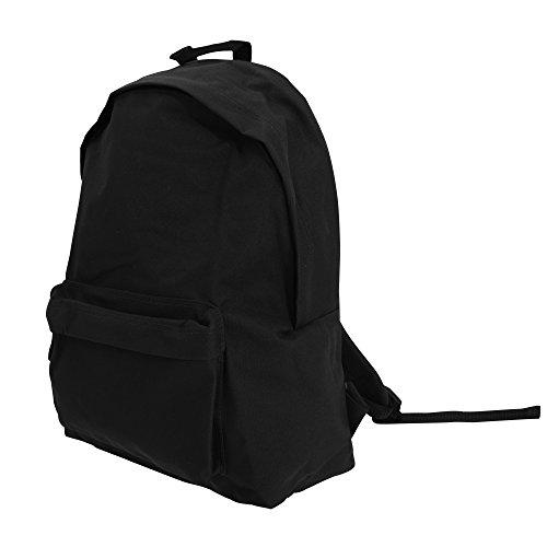BagBase Maxi Fashion Rucksack, 22 Liter (Einheitsgröße) (Schwarz)