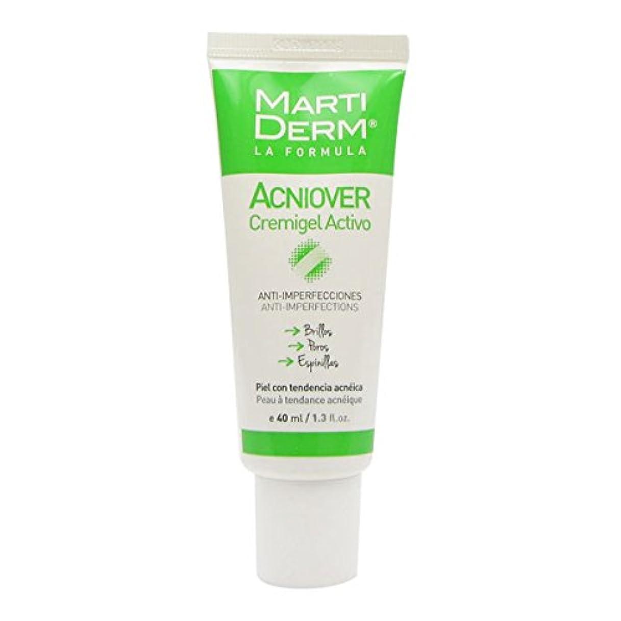 医薬品単位奨学金Martiderm Acniover Cream-gel 40ml [並行輸入品]