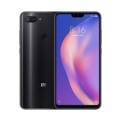 Xiaomi Mi 8 Lite - Smartphone Dual SIM de 6.26' nontch FHD+ (Snapdragon 660, RAM de 6 GB, Memoria de 128 GB, cámara de 24 MP, Android 8.1) Color Negro