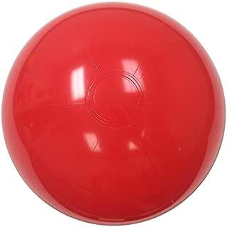 Beachballs - 16'' Solid Red Beach Ball