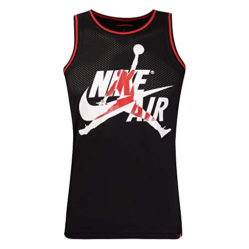 Nike Youth Jordan Jumpman Class Mesh Jersey Black/Red