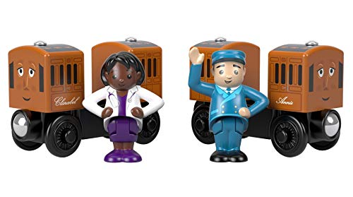 Thomas & Friends Wood, Annie & Clarabel, Multi Color