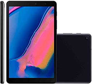 """Tablet Samsung, SM-P205NZKPZTO, Galaxy Tab A S Pen Octa-Core, 1.8GHz Wi-Fi + 4G Tela 8"""" Android 9.1, Preto"""
