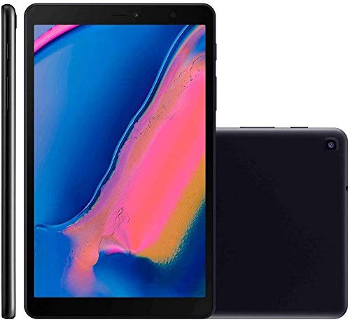Tablet Samsung, SM-P205NZKPZTO, Galaxy Tab A S Pen Octa-Core, 1.8GHz Wi-Fi + 4G Tela 8' Android 9.1, Preto