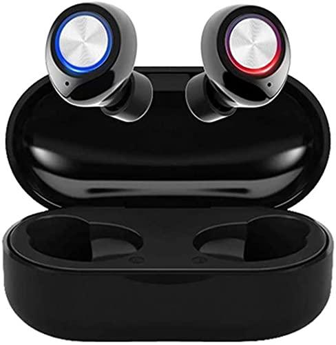 WHXL Cancelación de Ruido Auriculares Bluetooth True inalámbrico in-Oreja Auriculares estéreo de Alta definición