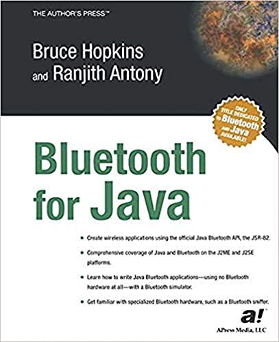 Bluetooth For Java (English Edition)