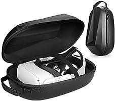 Oculus Quest 2 için Sert Taşıma Çantası Ayarlanabilir Elit Kayış ve Oculus Quest 2 Kulaklık Saklama Çantası, Eyglo Q2...