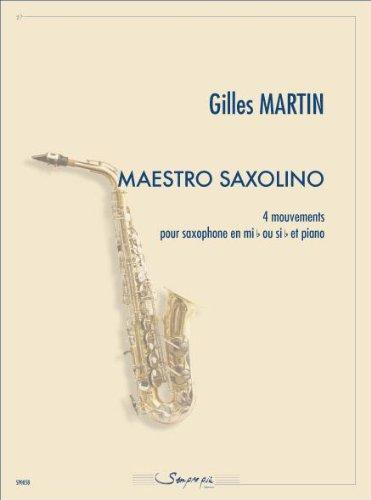Maestro Saxolino - Buch