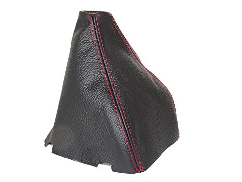 Für Mercedes SLK R1701996–2004Schaltsack Leder schwarz Naht rot