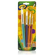 Crayola Kids Paint Brushes, 4 Count