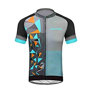 Uglyfrog Men Short Sleeves Cycling Jersey Bicycle MTB Bike Shirt
