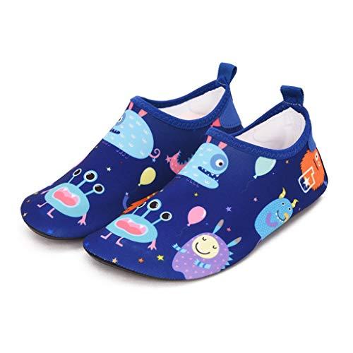 QQSX Kinder Baby Beach Schoenen Zuigeling Drijvende Schoenen Antislip Zwemschoenen Anti-snijden Dikke Droge Schoenen Peuter Water Schoenen