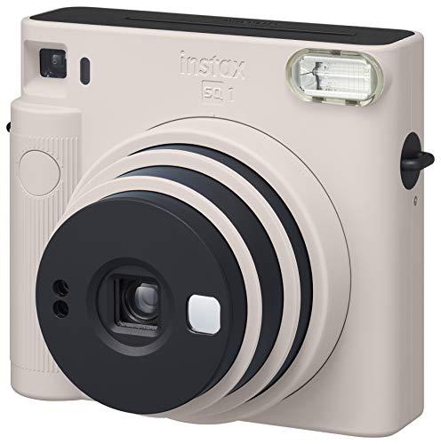 FUJIFILM インスタントカメラ チェキスクエア instax SQUARE SQ1 チョークホワイト INS SQ 1 WHITE