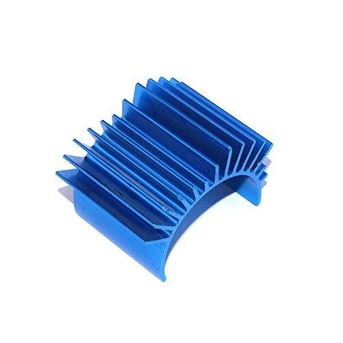 BliliDIY Dissipatore Di Calore Del Radiatore Del Motore In Alluminio Blu Tto1 Per 540/550 Parti Di Automobili Del Motore A Rc
