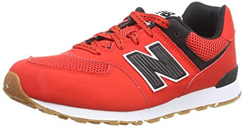 New Balance 574 Optiks Pack, Zapatillas, Velocity Red, 40 EU