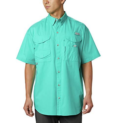 Columbia PFG Bonehead - Camisa de Manga Larga para Hombre, Color Azul Brillante, Talla XL